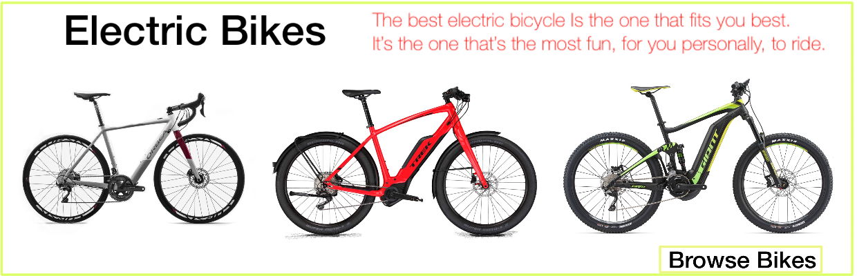 North east electric bikes.